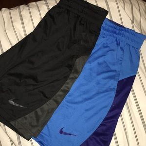 2 PAIRS NIKE BASKETBALL SHORTS